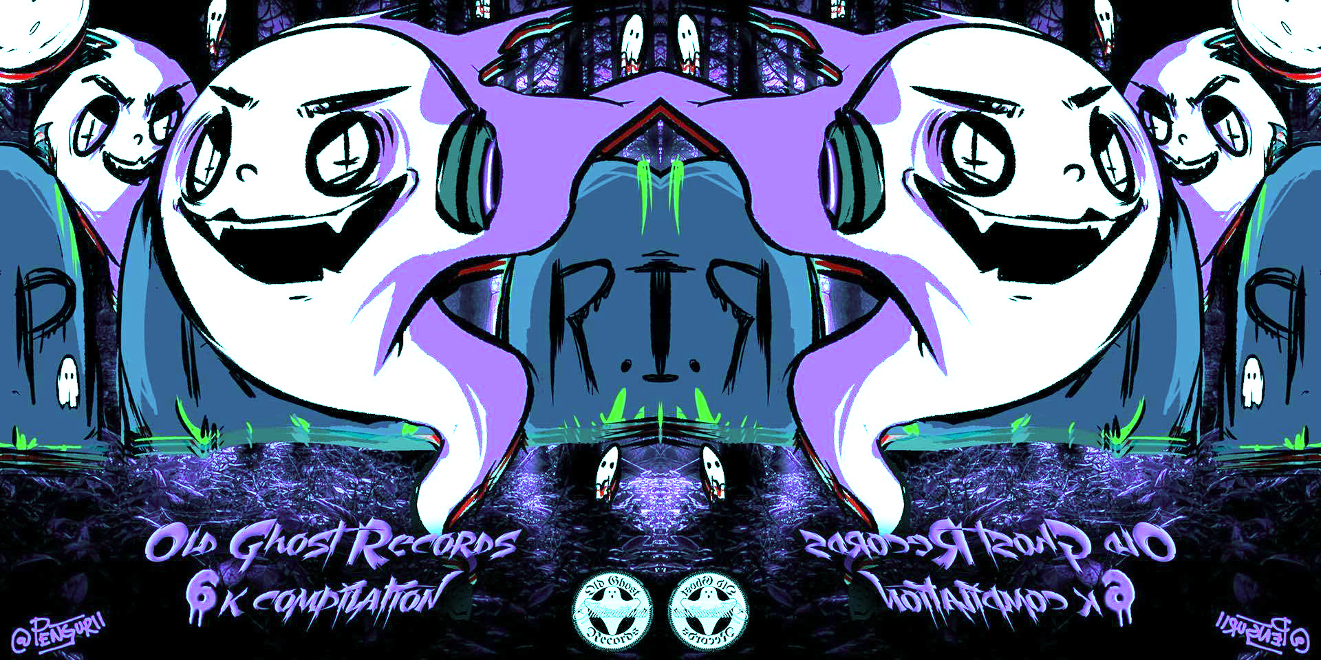 3549e36c8eb08 Old Ghost Records Hit 6000 Followers, And We're Loving this New Free ...