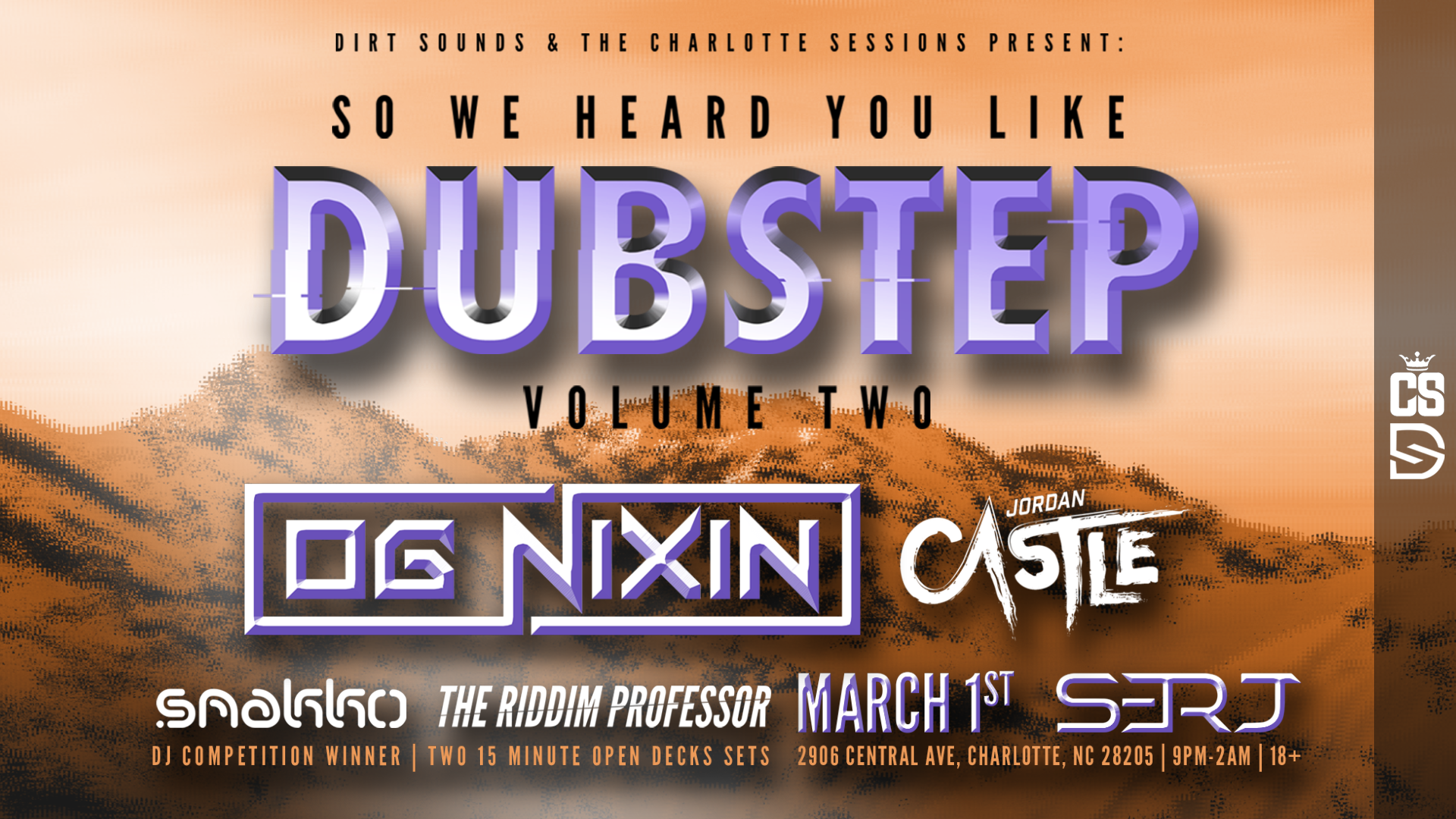 OG NIXIN is Coming to Charlotte [Concert Announcement]